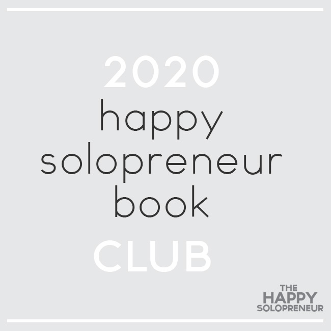 Join the Happy Solopreneur Book Club
