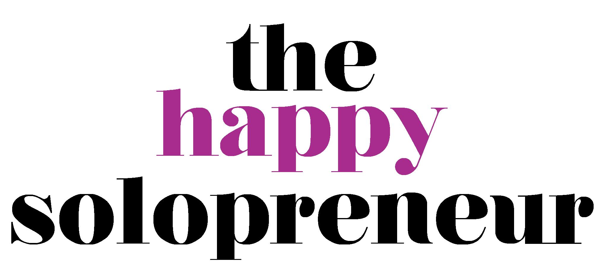 the happy solopreneur