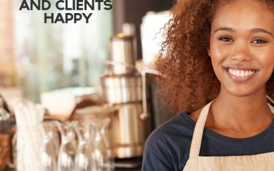 Keeping customers and clients happy